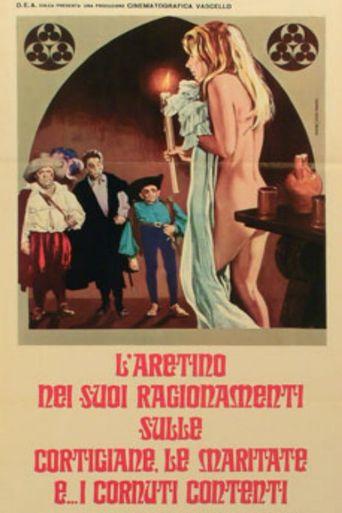 Aretino's Blue Stories Poster