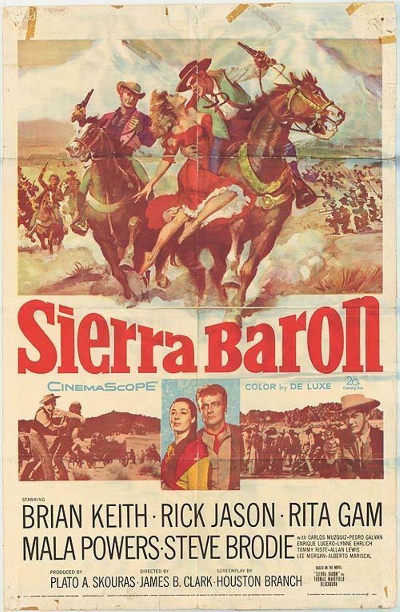 Sierra Baron Poster