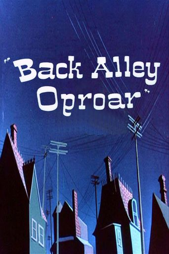 Back Alley Oproar Poster
