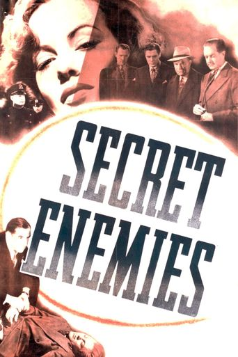 Secret Enemies Poster