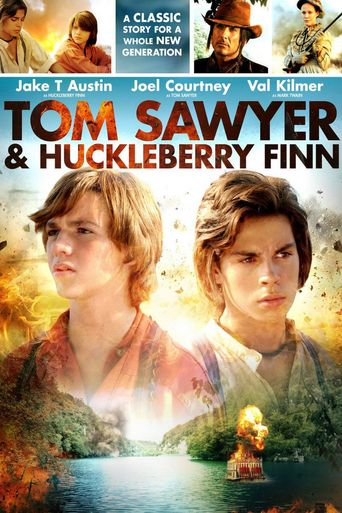 Tom Sawyer & Huckleberry Finn Poster