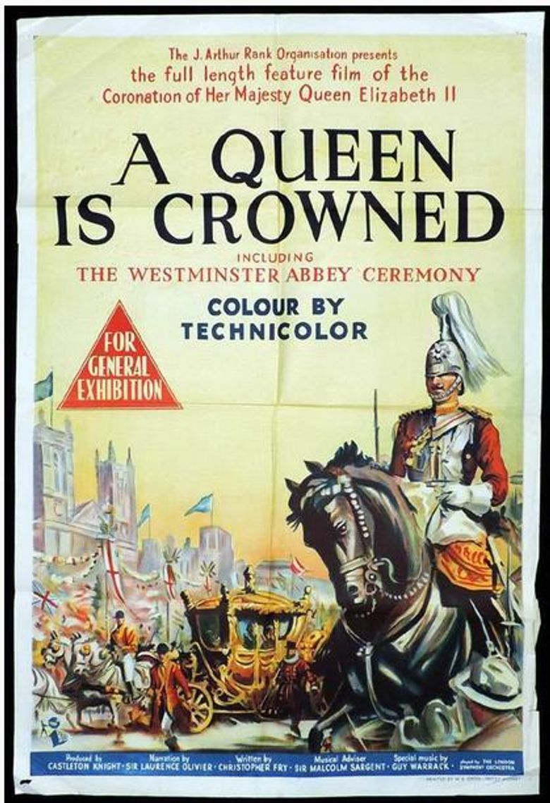 A Queen Is Crowned Poster