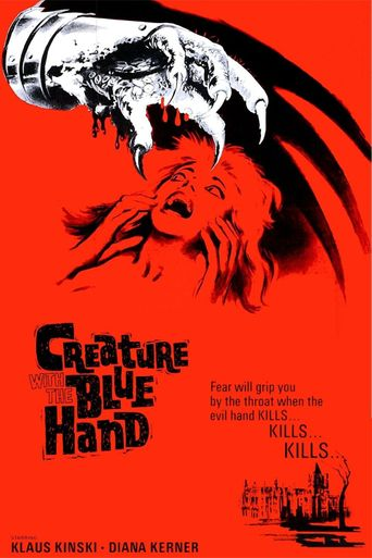 Creature with the Blue Hand Poster