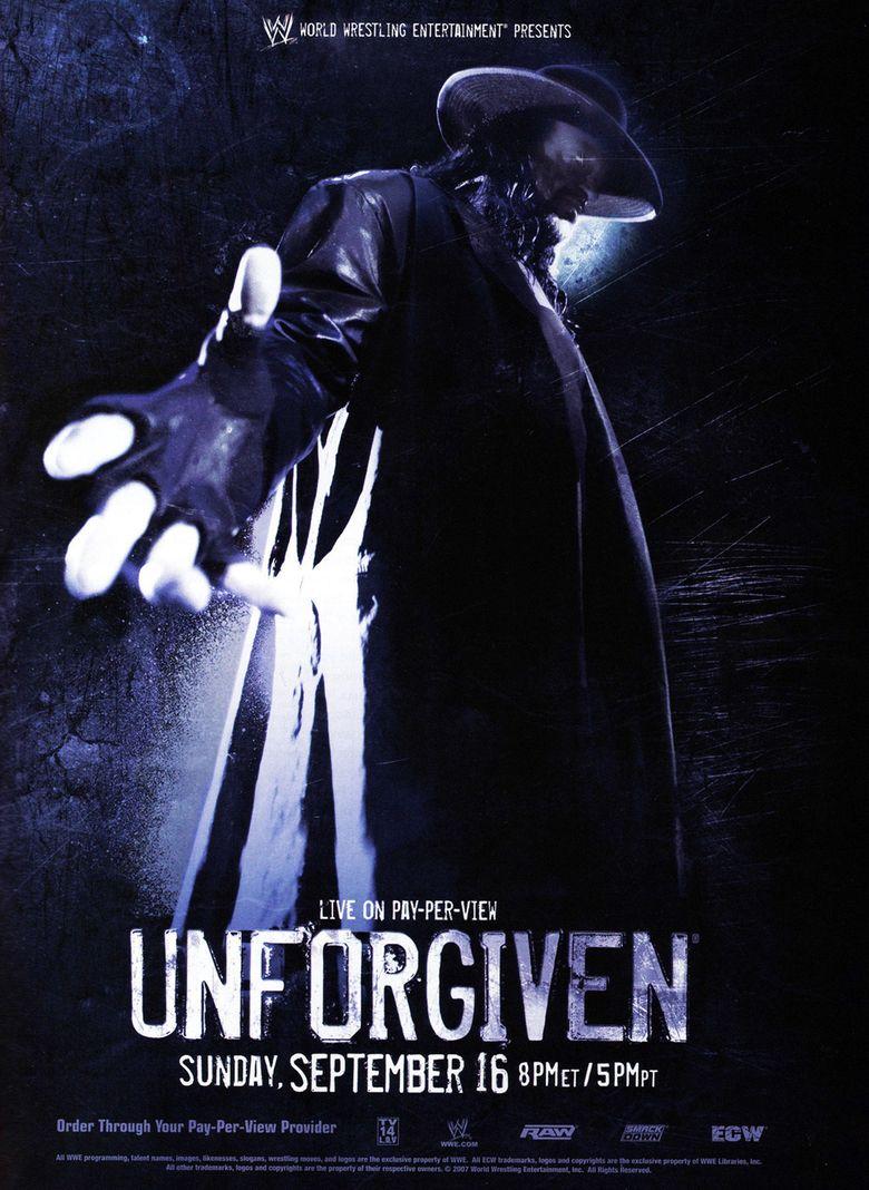 WWE Unforgiven 2007 Poster