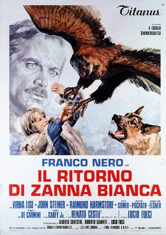 Challenge to White Fang Poster