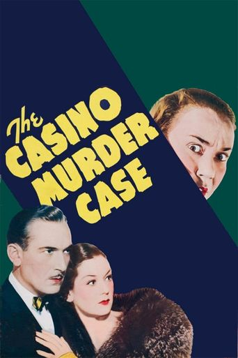 The Casino Murder Case Poster