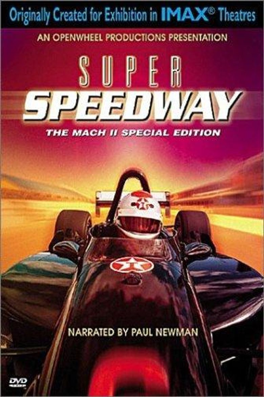 Super Speedway Poster