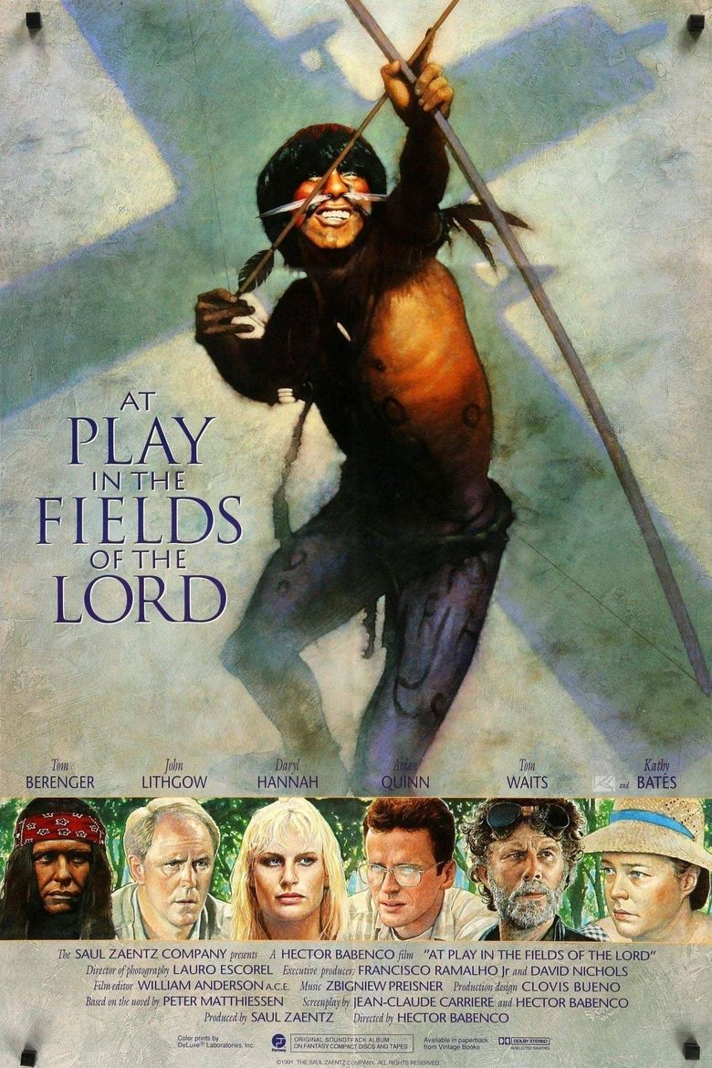 At Play in the Fields of the Lord Poster