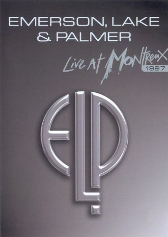 Emerson, Lake & Palmer: Live At Montreux Poster