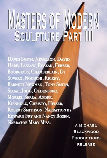 Masters of Modern Sculpture Part III: The New World Poster
