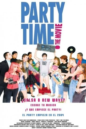 Party Time: The Movie Poster