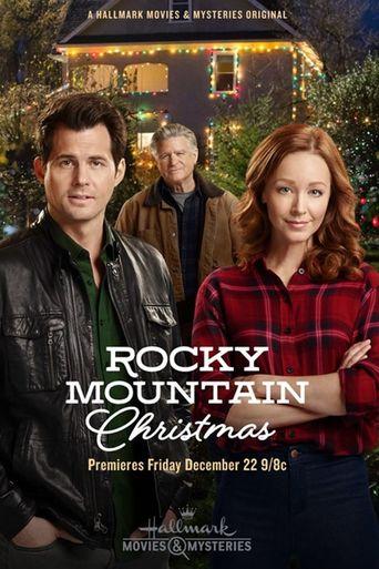 Rocky Mountain Christmas Poster