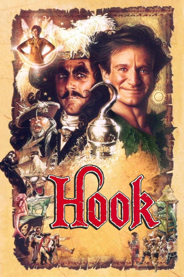 Hook (1991) - Watch on Sony Crackle, Vudu, and Streaming Online