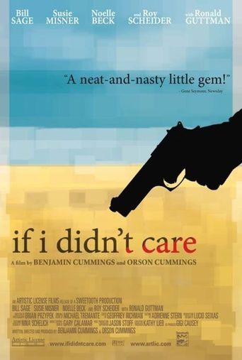 If I Didn't Care Poster