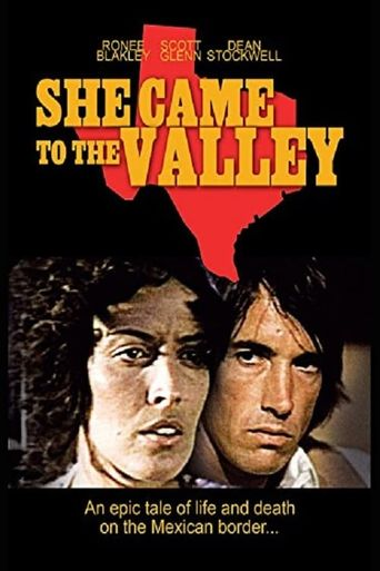 She Came To The Valley Poster
