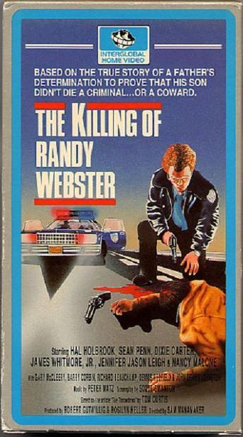 The Killing of Randy Webster Poster