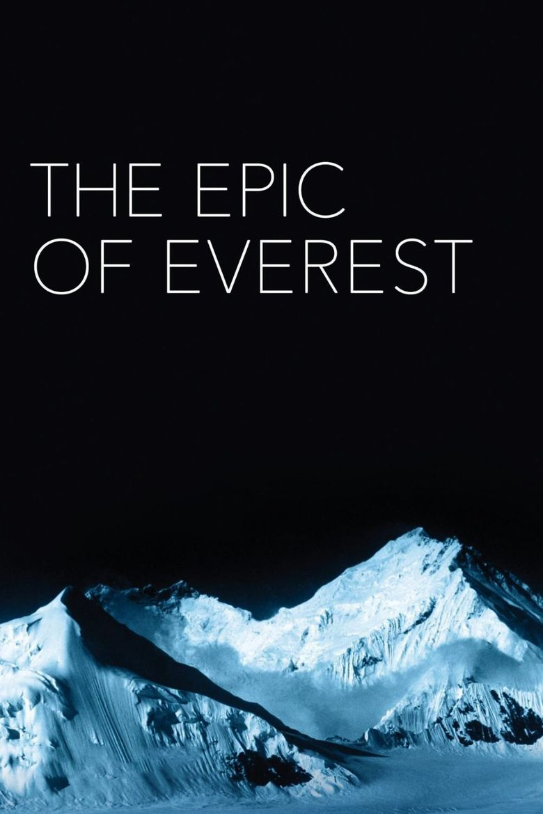 The Epic of Everest Poster