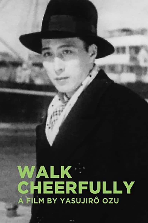 Walk Cheerfully Poster