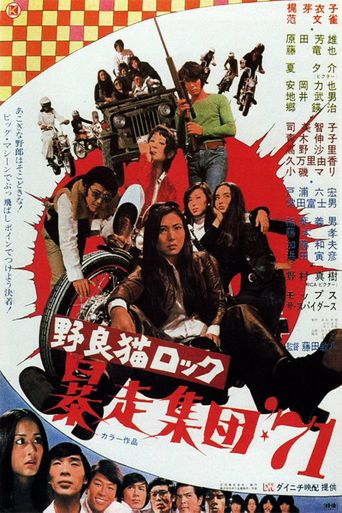 Stray Cat Rock: Beat '71 Poster