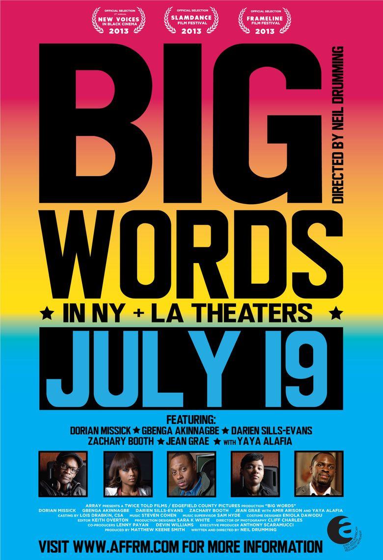 Big Words Poster