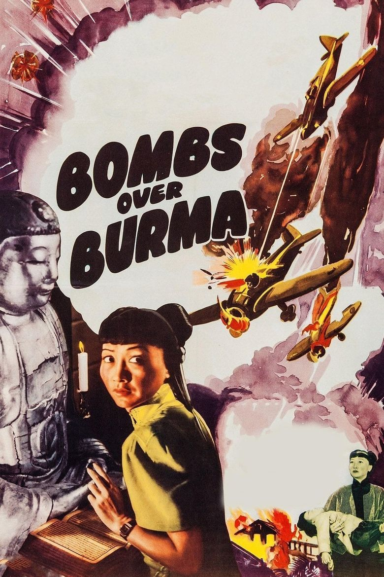 Bombs Over Burma Poster