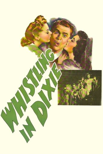 Whistling in Dixie Poster