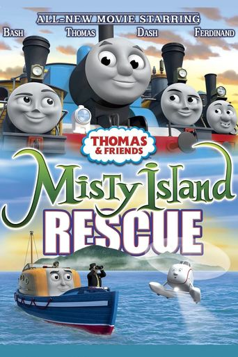 Thomas & Friends: Misty Island Rescue Poster