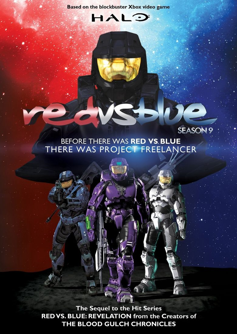 Red vs. Blue - Vol. 09 Poster