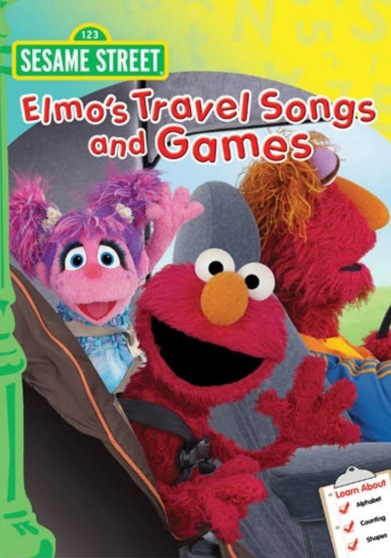 Sesame Street: Elmo's Travel Songs & Games Poster