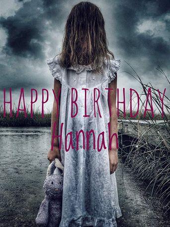 Happy Birthday Hannah Poster