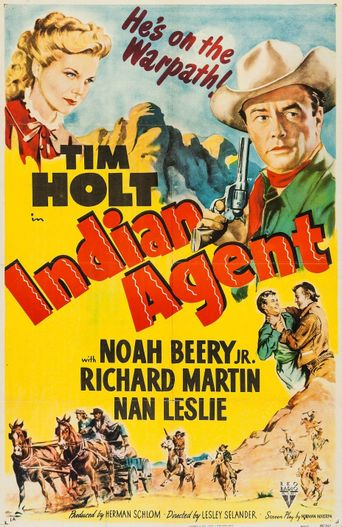 Indian Agent Poster