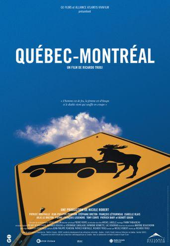 Québec-Montréal Poster