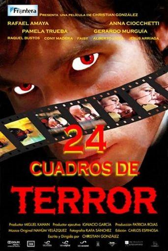 24 Cuadros de Terror Poster