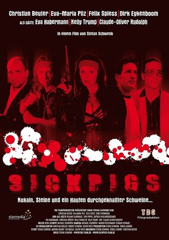 Sick Pigs Poster