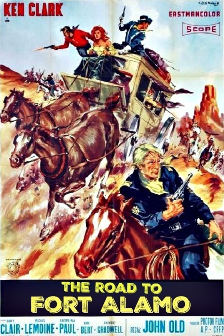 The Road to Fort Alamo Poster