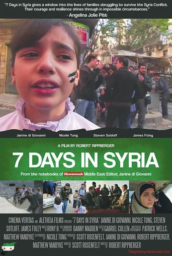 7 Days in Syria Poster