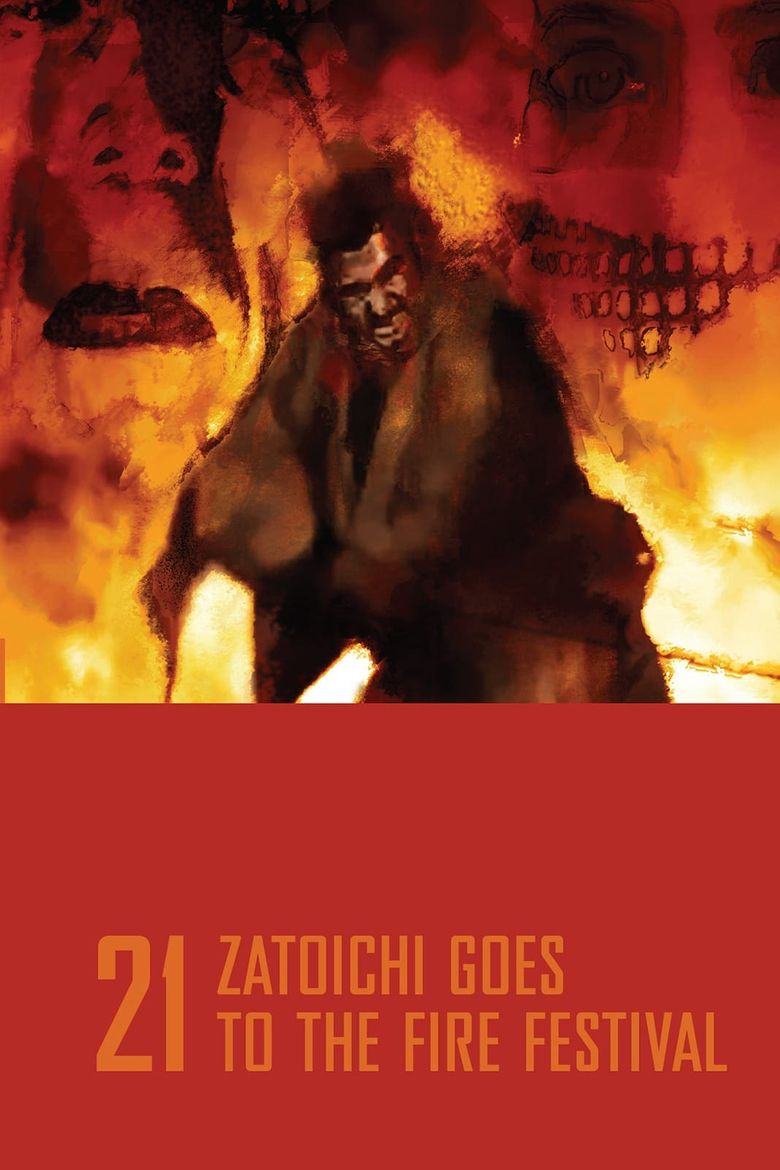 Zatoichi Goes to the Fire Festival Poster