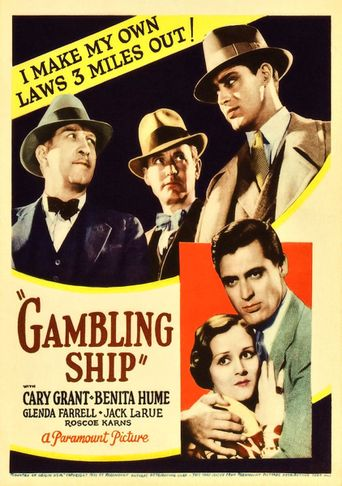 Gambling Ship Poster