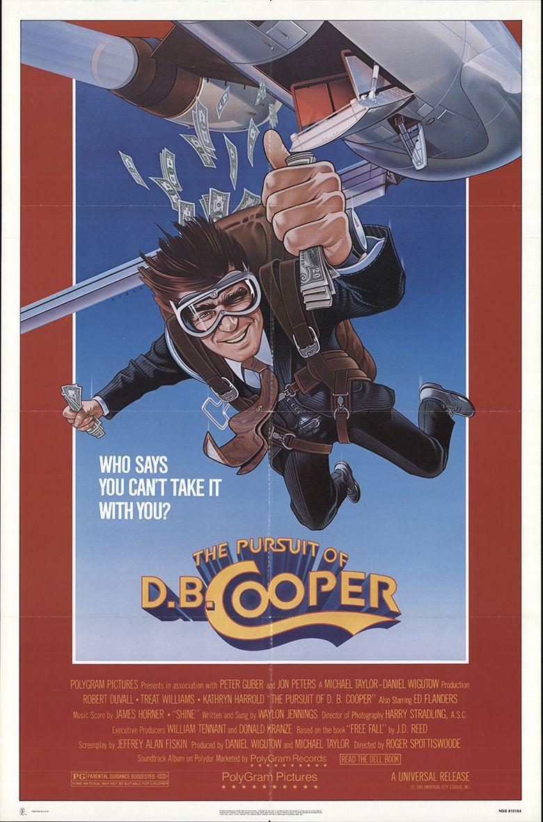 The Pursuit of D.B. Cooper Poster