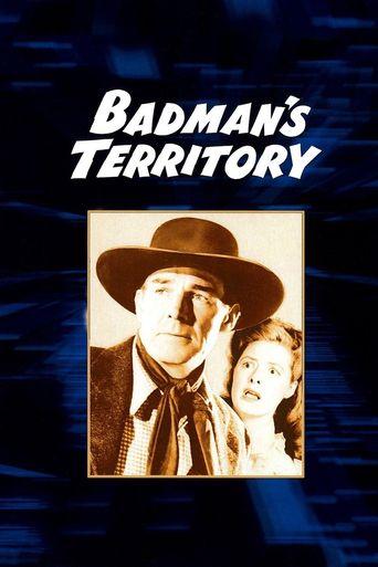 Badman's Territory Poster