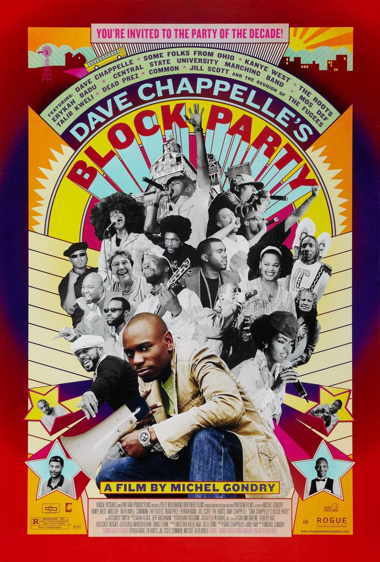Dave Chappelle's Block Party Poster