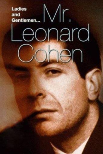 Ladies and Gentlemen, Mr. Leonard Cohen Poster