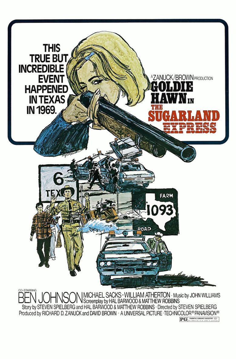 The Sugarland Express Poster