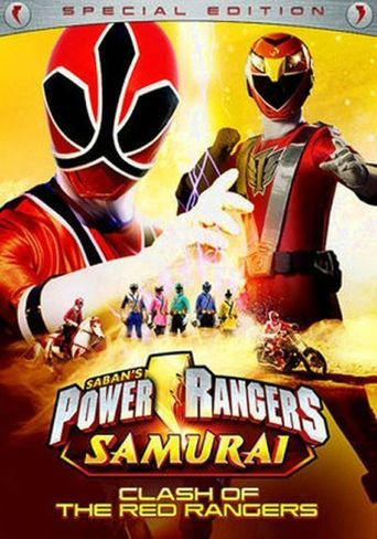 Power Rangers Samurai: Clash of the Red Rangers - The Movie Poster