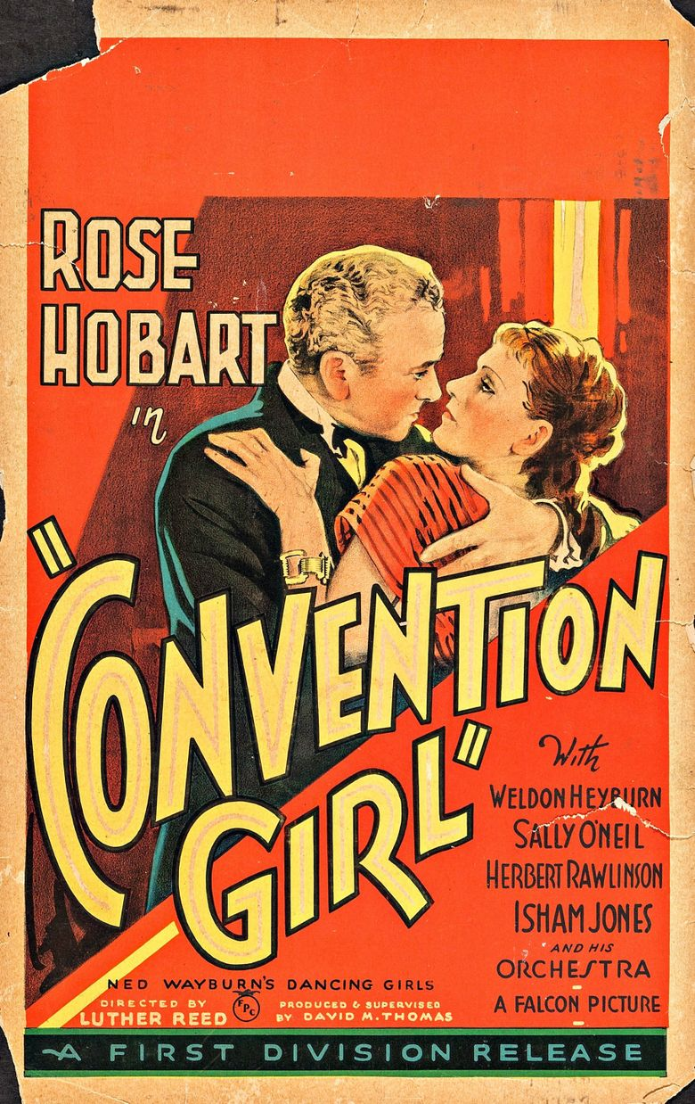 Convention Girl Poster