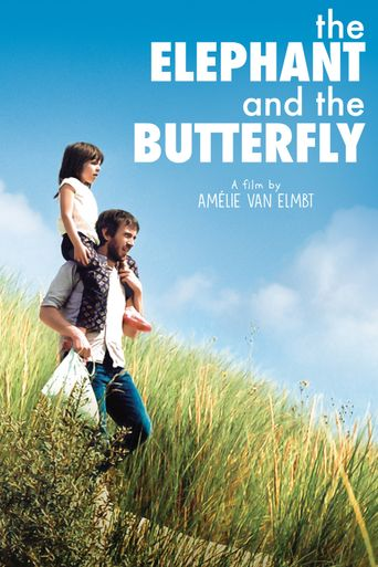 The Elephant and the Butterfly Poster