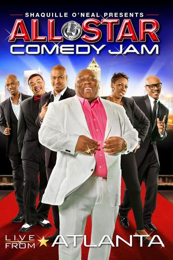 Shaquille O'Neal All-Star Comedy Jam Live from Atlanta Poster