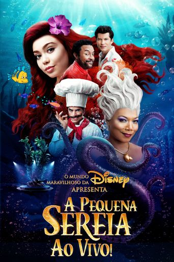 The Little Mermaid Live! Poster