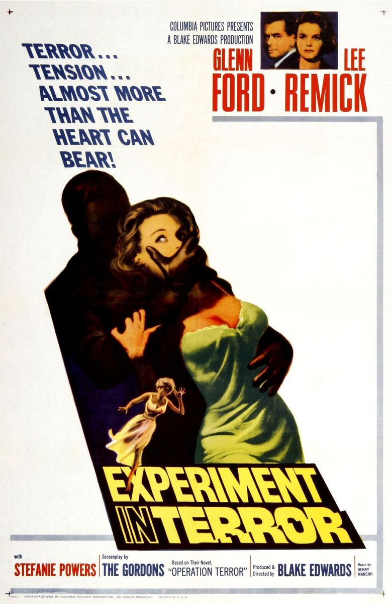 Experiment in Terror Poster