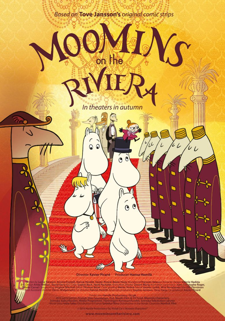 Moomins on the Riviera Poster